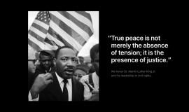 苹果官方网站再次放上一张纪念马丁路德金日的完整照片