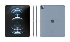 IPad Pro 2021新效果图曝光:两种尺寸,硬件配置已大幅升级